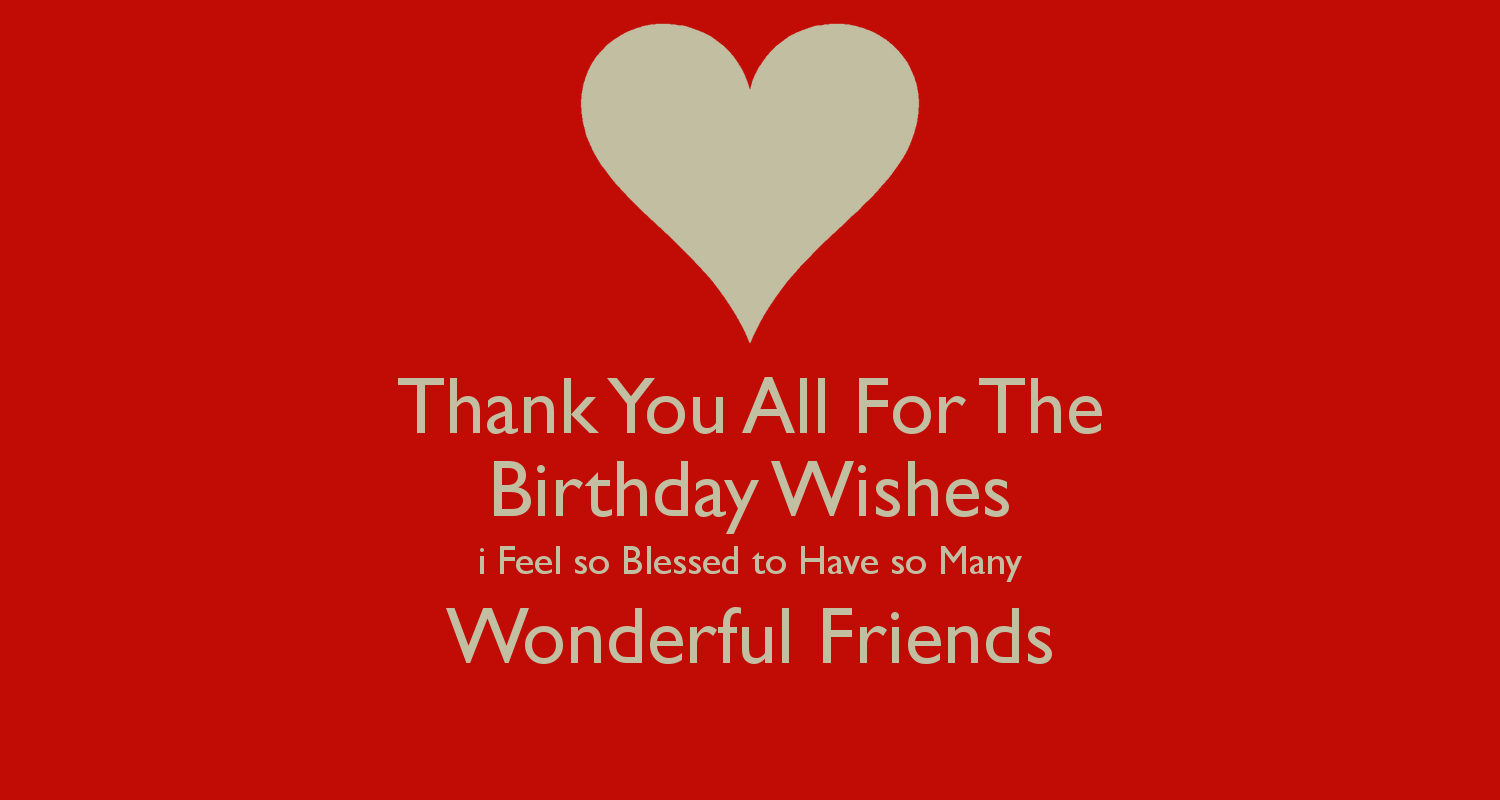 Thanks for the birthday wishes got it covered pinterest birthdays thanks for the birthday wishes kristyandbryce Gallery