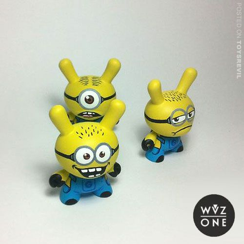 Customized Minion Dunnys from WuzOne