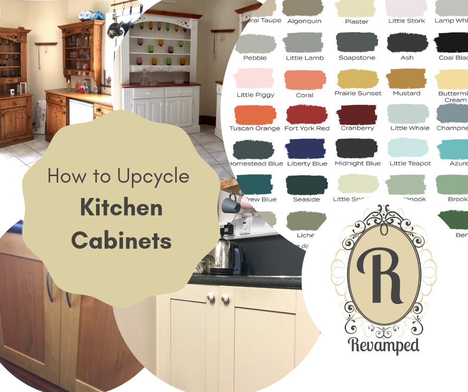 How to Upcycle Old Kitchen Cabinet Doors with Paint ...