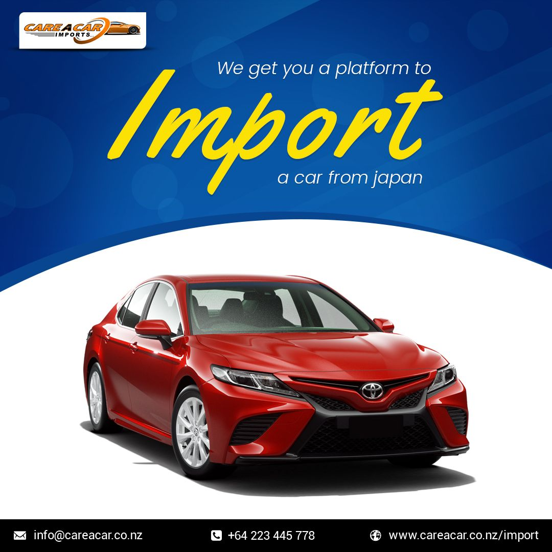 Import Your Dream Car From Japan To New Zealand Car Japanese