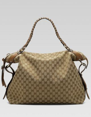 a4b450e15d7 Gucci  Bamboo Bar  Large Shoulder Bag 232927 F4G1N 9763