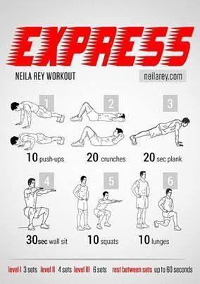 pinamber jennings on fitness  neila rey workout