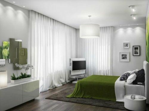 moderne weiße Pendelleuchte   schlafzimmer Ideen   Pinterest ...