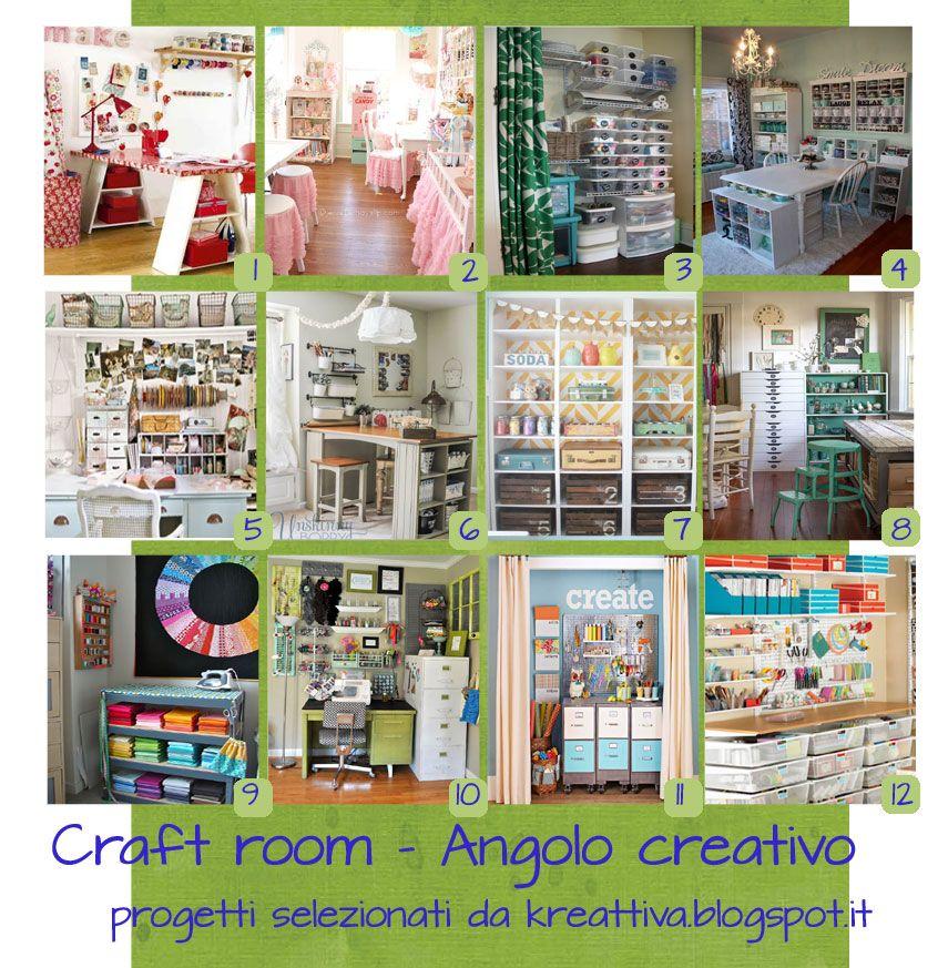 Kreattiva: 15 idee per organizzare la craft-room