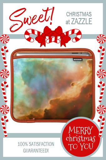 Enlarged Region of The Omega Nebula Sleeve For iPads | Zazzle.com