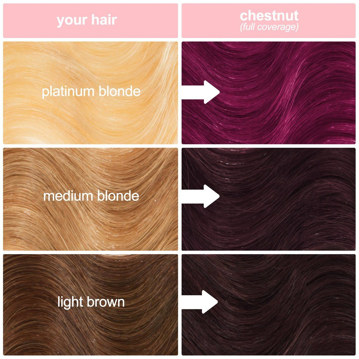 Chestnut Hair Color In 2020 Unicorn Hair Dye Semi Permanent