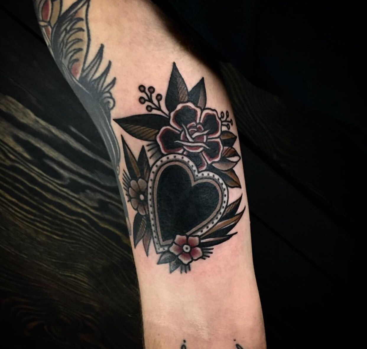 Pin by Jaye Powell on Tattoos Traditional heart tattoos
