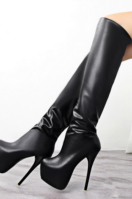 Photo of Stiletto Heels Women Fashion Sexy Hasp Solid Thin Heel Pumps Pointed Toe Sandals