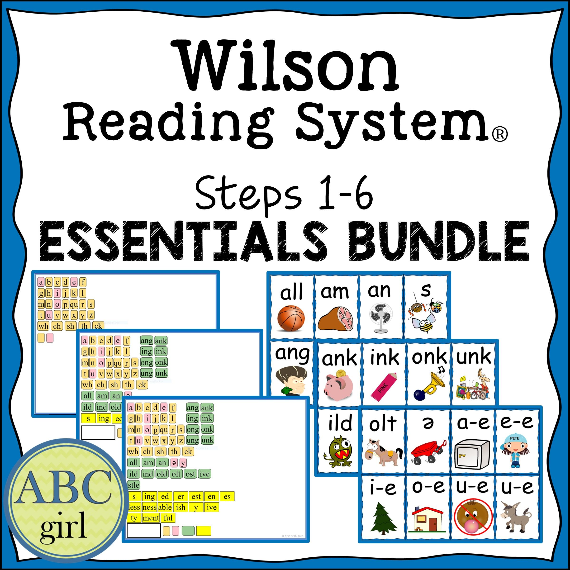 Reading System Steps 1 6 Bundle With Images