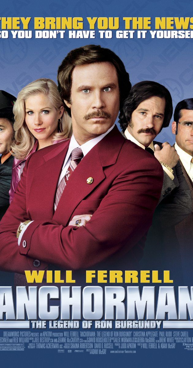 Directed By Adam Mckay With Will Ferrell Christina Applegate