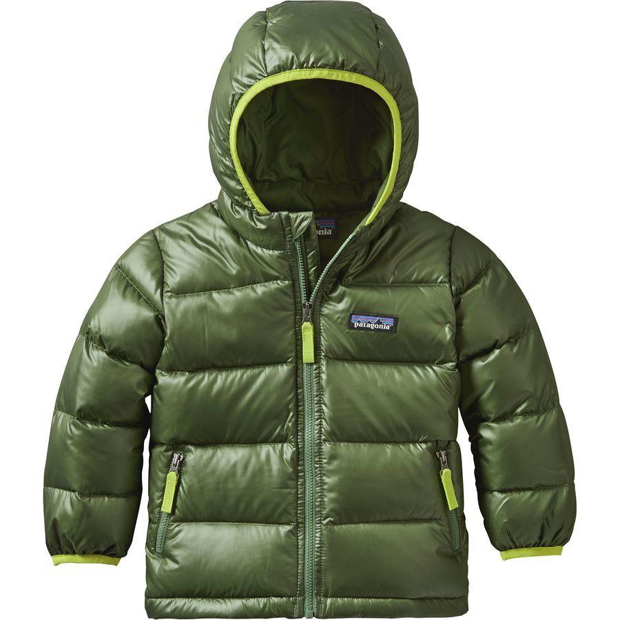 fbbb012112bd Patagonia Hi-Loft Down Sweater Hooded Jacket - Toddler Boys