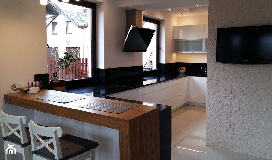 Znalezione Obrazy Dla Zapytania Kuchnia W Ksztalcie Litery U Z Barkiem Home Decor Decor Furniture
