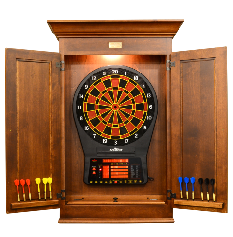Sheffield Dartboard Cabinet - Peters Billiards | Game Room ...