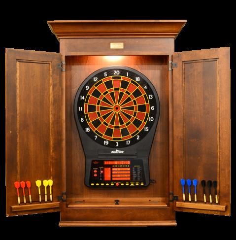 Sheffield Dartboard Cabinet - Peters Billiards | Game Room ...
