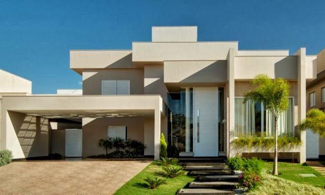 Fachadas de Casas Modernas � Casas sem telhado
