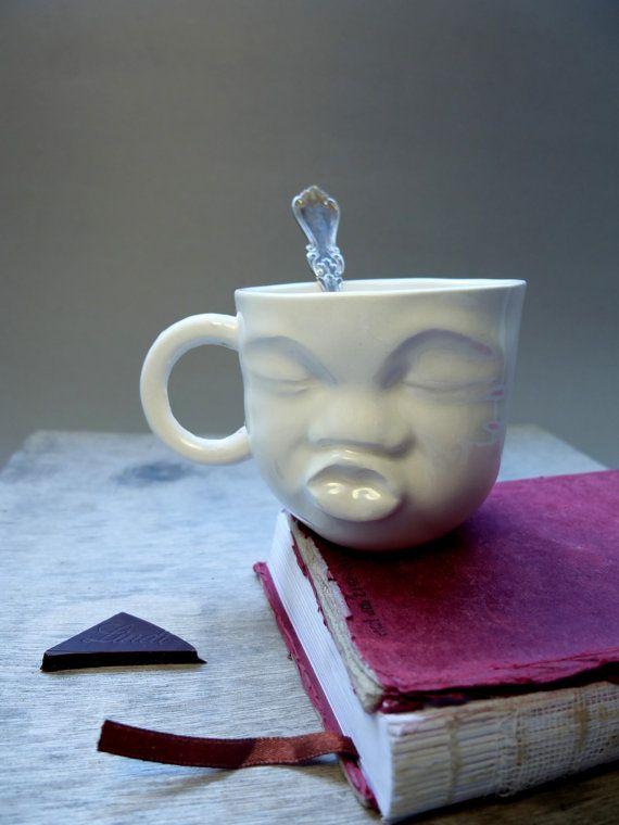 Mejor amigo regalo de ella  taza de cerámica única  hermana   Etsy