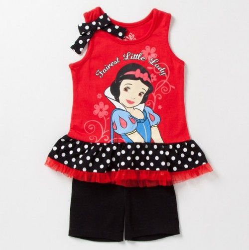 Perfect -- Snow White Top and Pant Set - Clothing Sets: Girls 2T-4T - Events