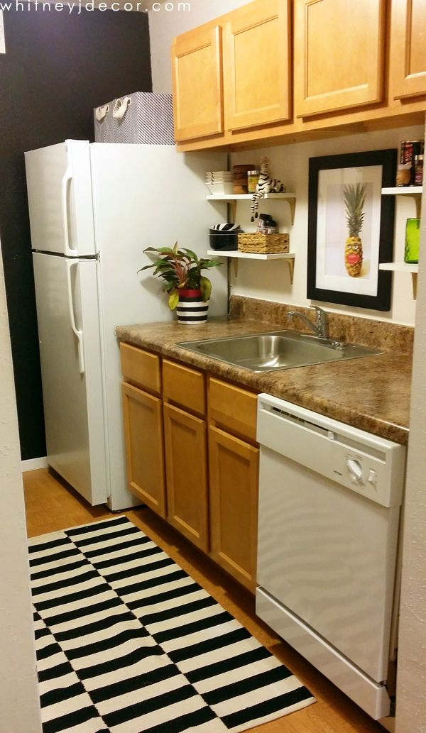 Superb Decorating A Small, Tiny Kitchen In A Small Apartment Awesome Design