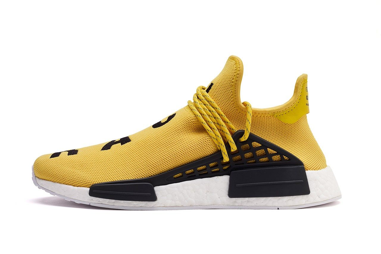 An Official Look at the adidas Originals and Pharrell Williams Hu NMD