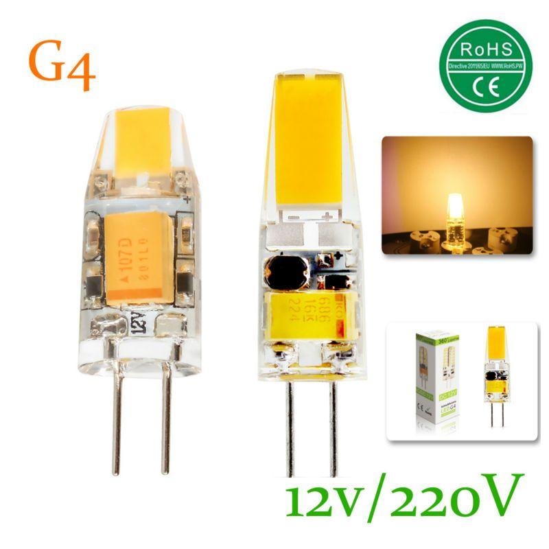 15x Mini G4 LED Lamp COB LED Bulb 3W 6W DC/AC 12V AC 220V LED Light ...