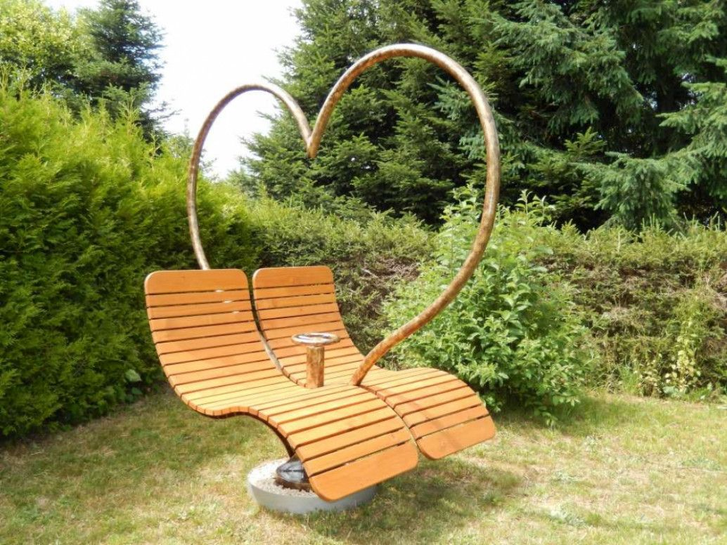 Liegebank Garten Relaxliege Garten Relaxliege Douglasie Holz