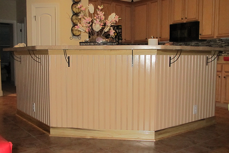 Superb Wainscoting Pictures | Beadboard Wainscoting Can Improve The Looks Of Your  Kitchen, Bathroom .