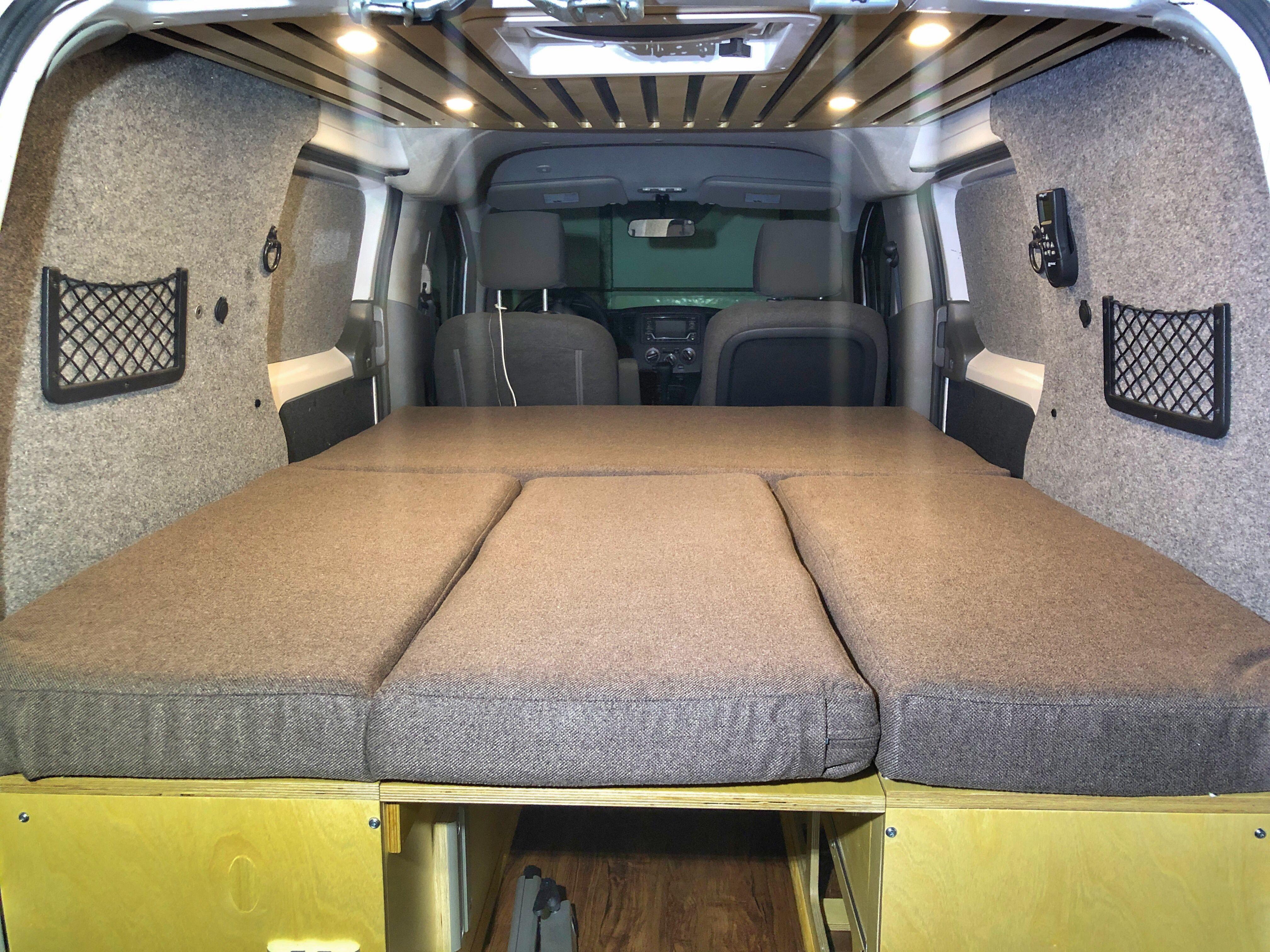 nv200 campervan conversion convertible