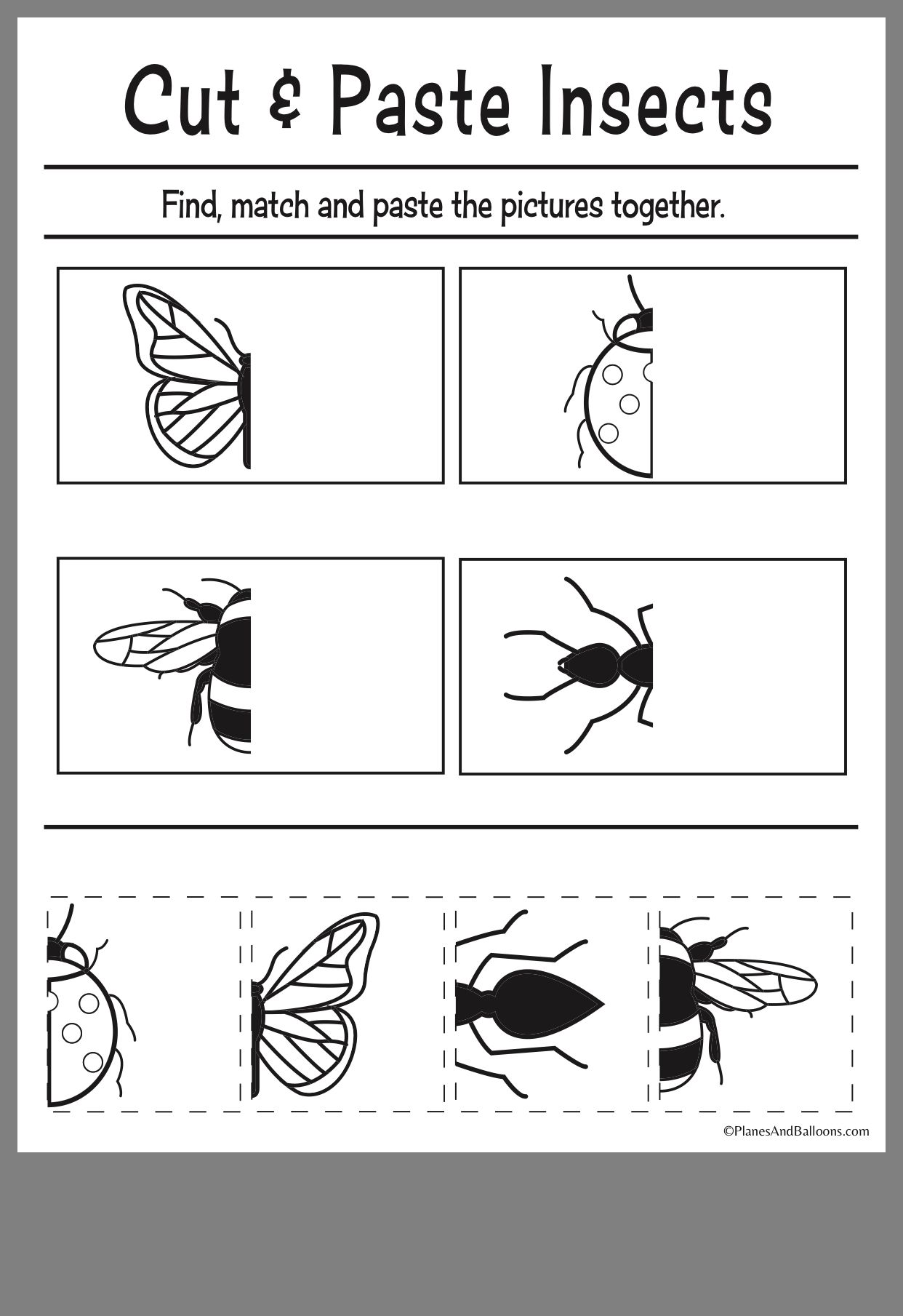 Pin On Preschool Bugs