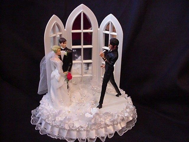Elvis Wedding Cake Topper By Cinhol On Etsy 7500