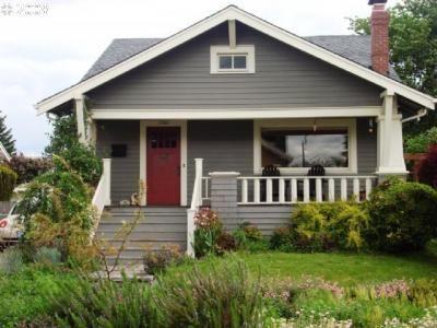 grey house rust door | grey houses for mum | pinterest | google