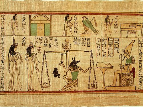 Book Of The Dead For The Singer Of Amun Nany Ancient Egypt