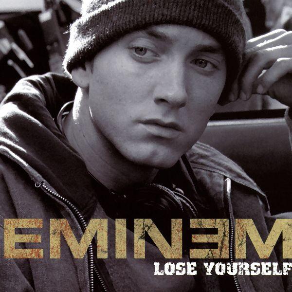 Eminem – Lose Yourself (single cover art)