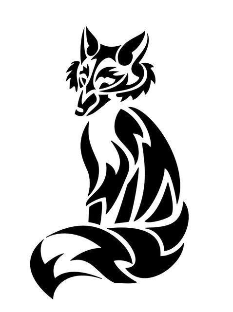 Imgur Tribal Fox Fox Tattoo Tribal Art