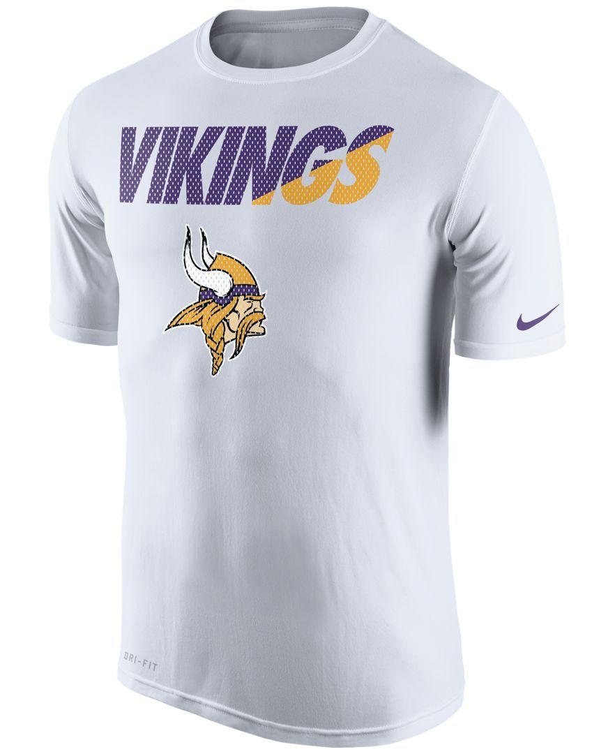 aa701d64 Nike Men's Minnesota Vikings Legend Staff Practice T-Shirt ...