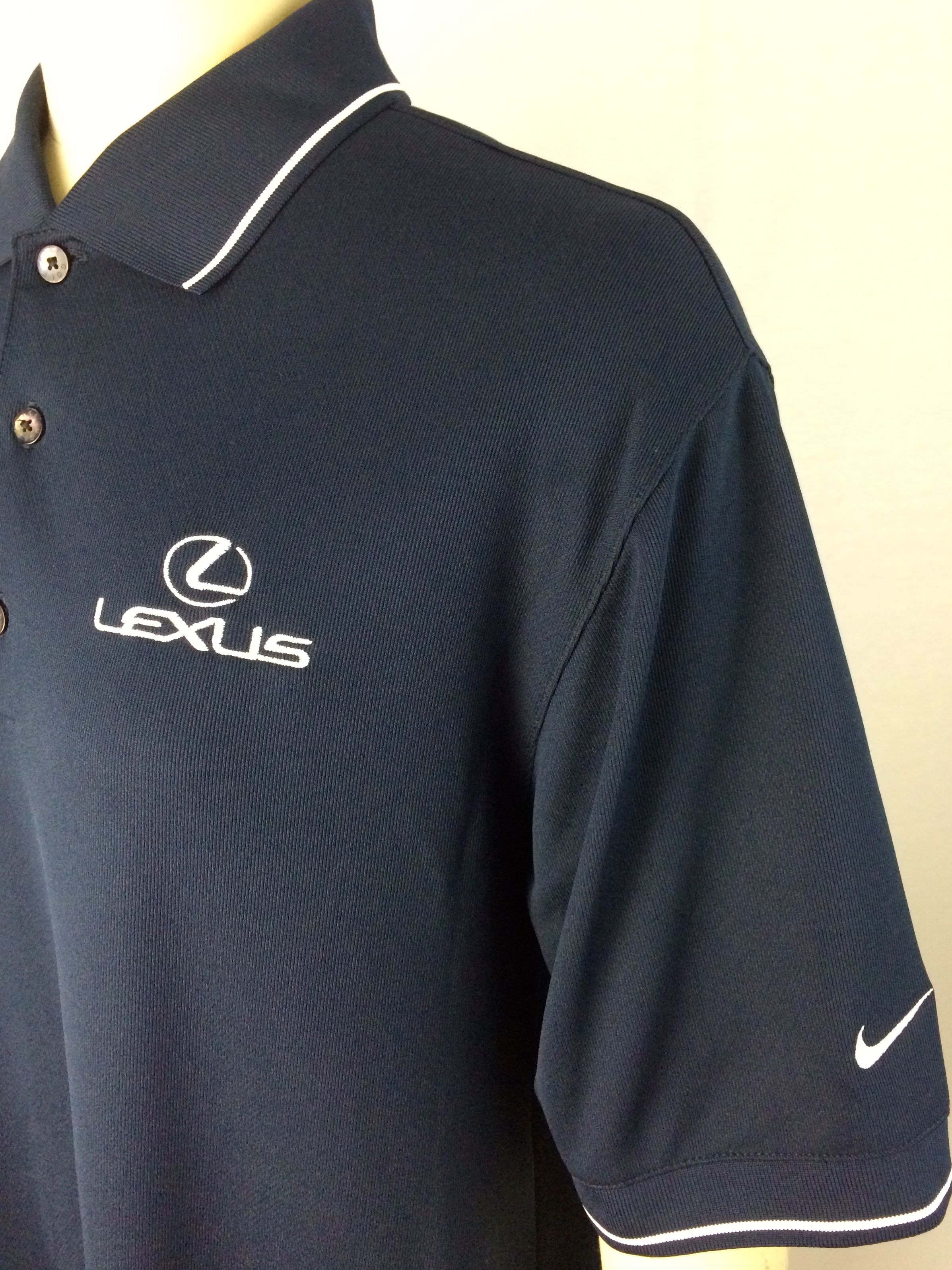 Lead Apparel Works With Lexus On A Custom Embroidered Nike Polo