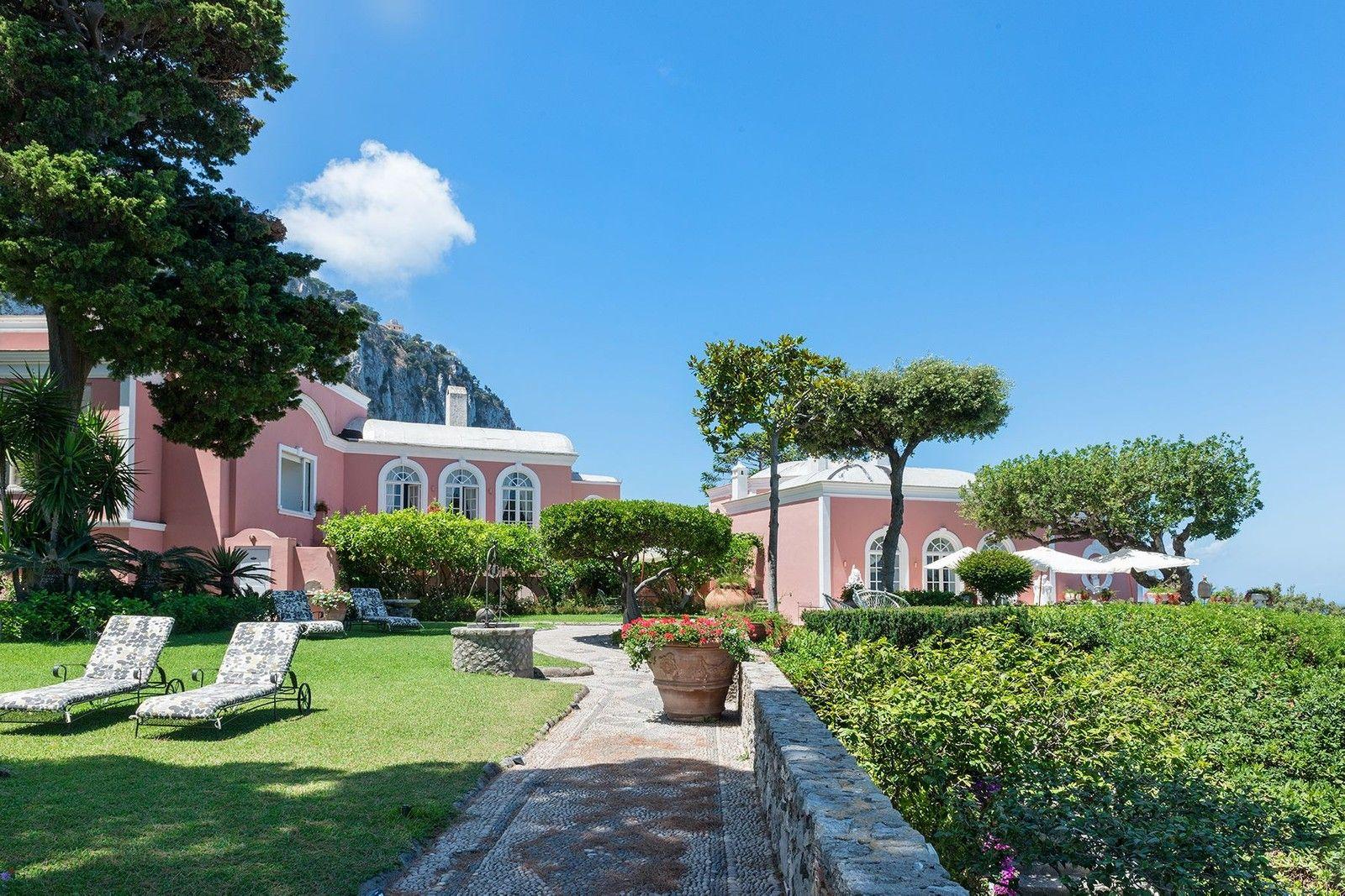 Via Palazzo a Mare Capri, Naples, Italy Luxury Home For