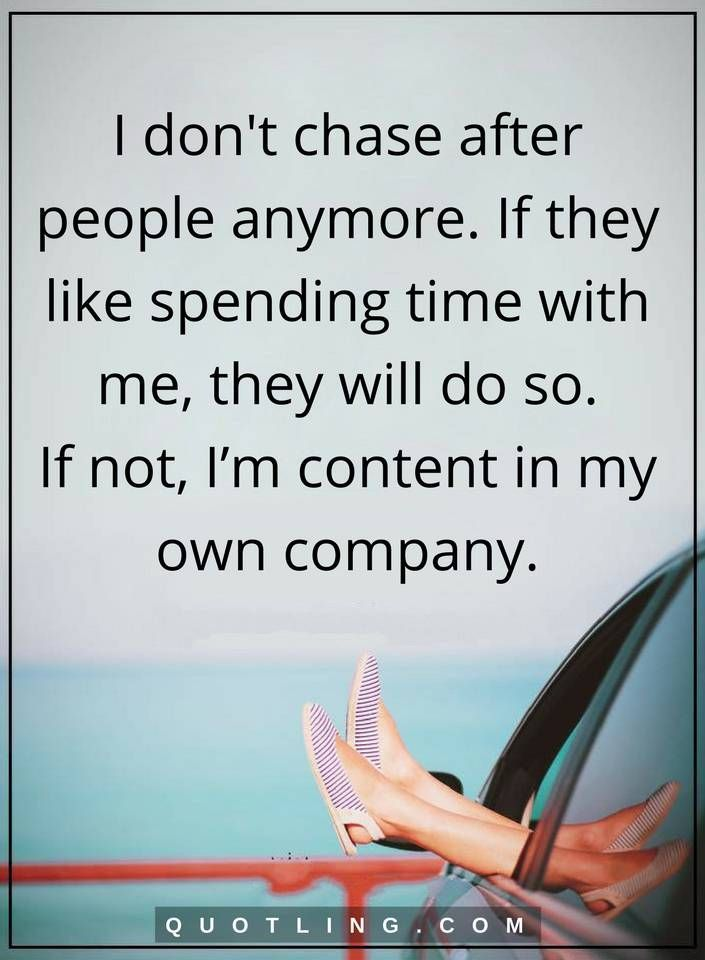 or chase someone? better it Is to chased be