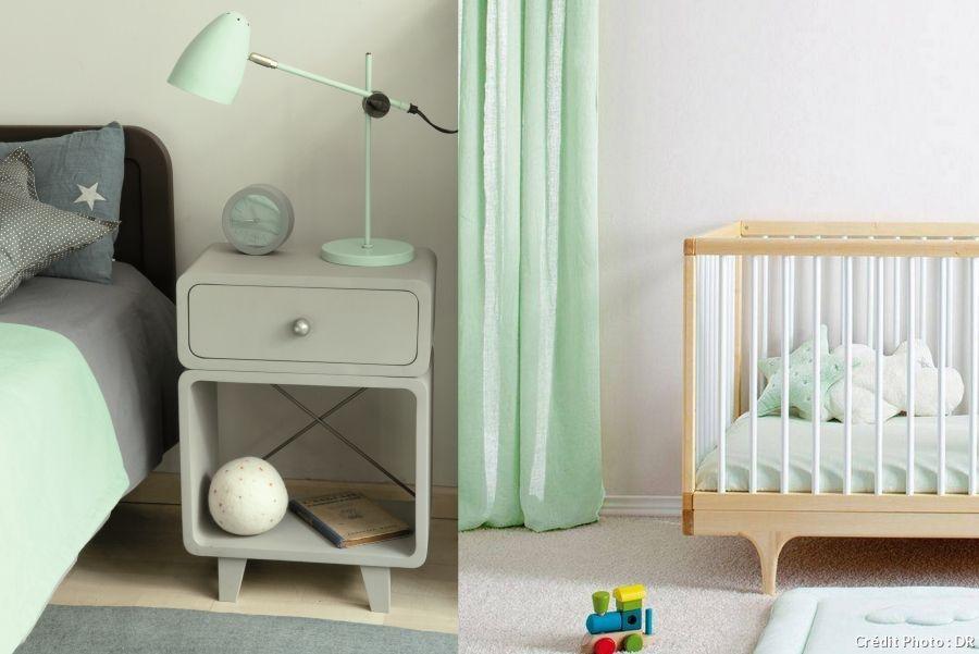 1000 images about chambre de bb en vert on pinterest - Chambre Vert