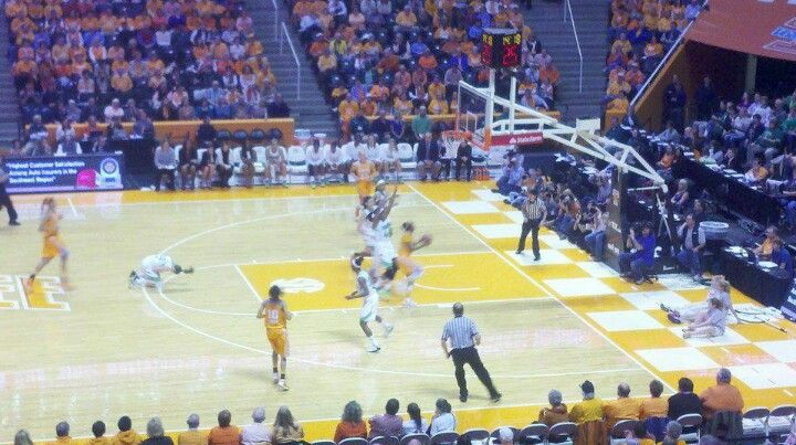 Lady Vols in action