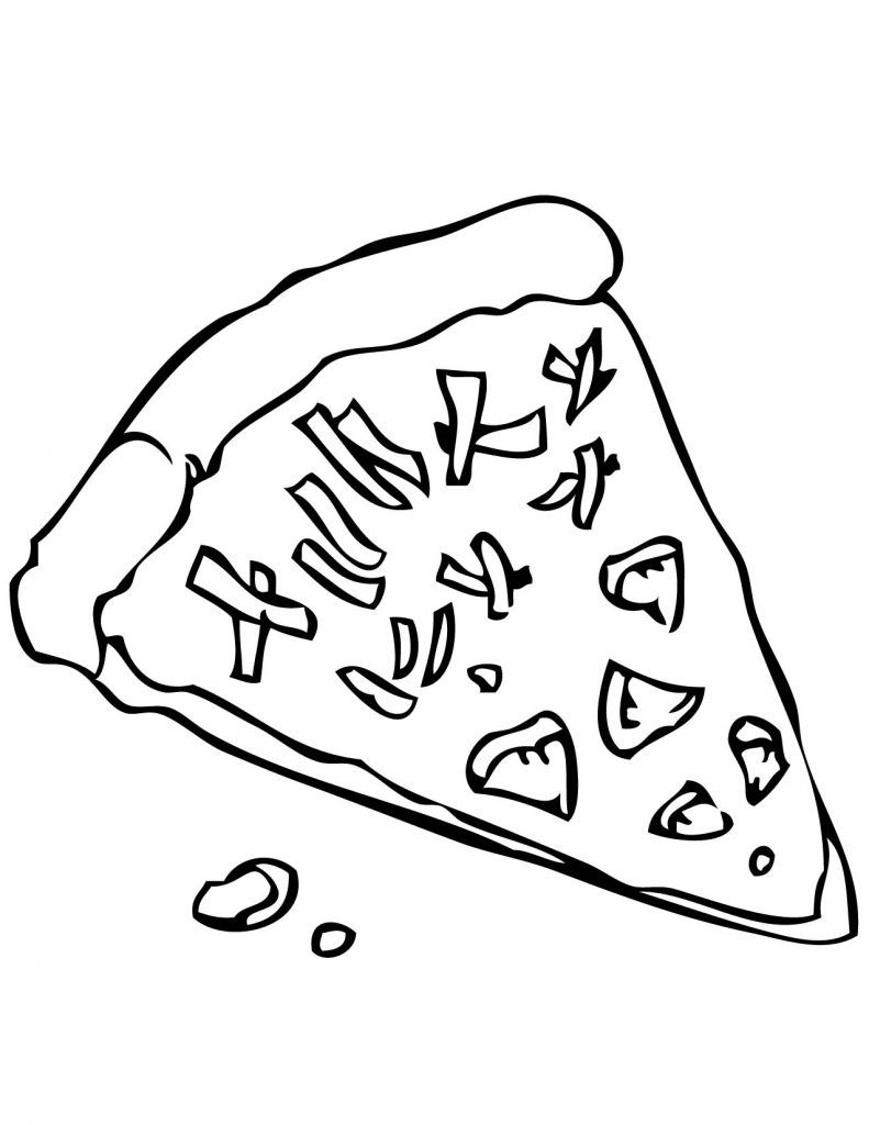 Pizza Coloring Pages Best Coloring Pages For Kids Pizza Coloring Page Coloring Pages Food Coloring Pages