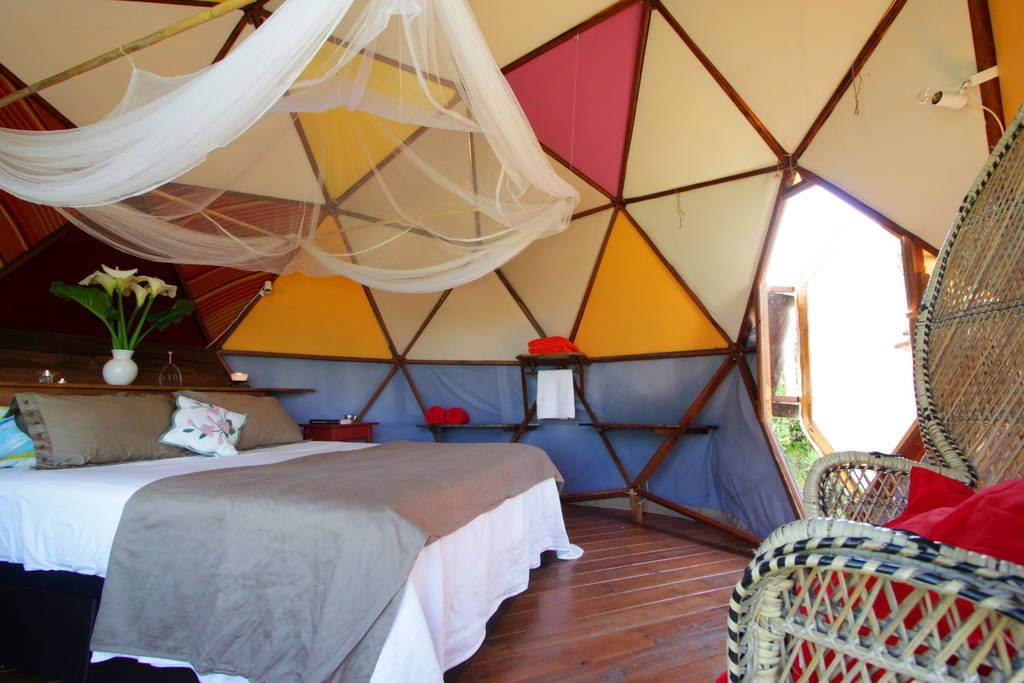 Airbnb geodesic dome facinas andalusia spain 60 usd per