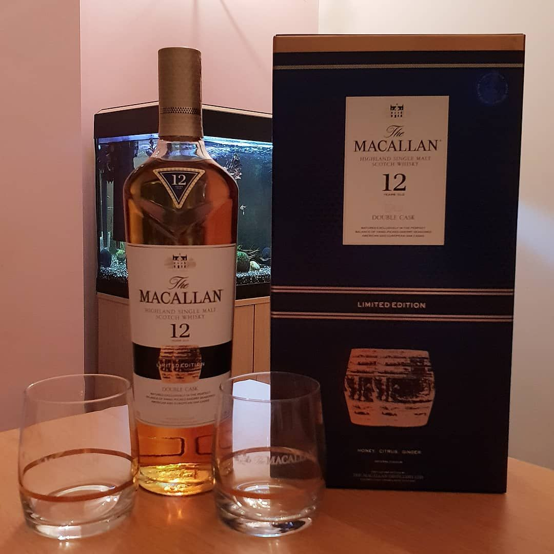 Macallan 12 years old double cask limited edition box set