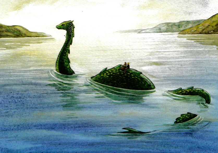 Image Result For Loch Ness Monster Loch Ness Monster Monster Illustration Monster Drawing