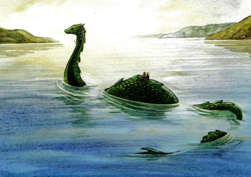 Image Result For Loch Ness Monster Loch Ness Monster Monster Illustration Monster Drawing