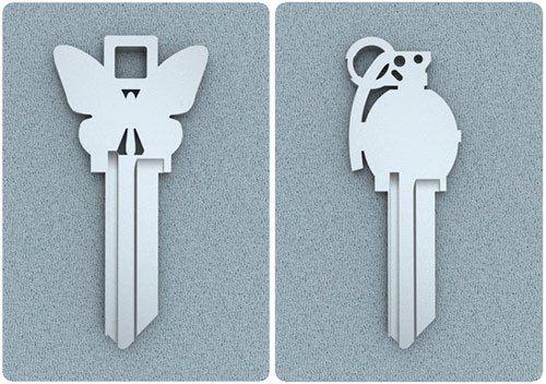 Nuevos Diseños para las Llaves, Diferencial!!