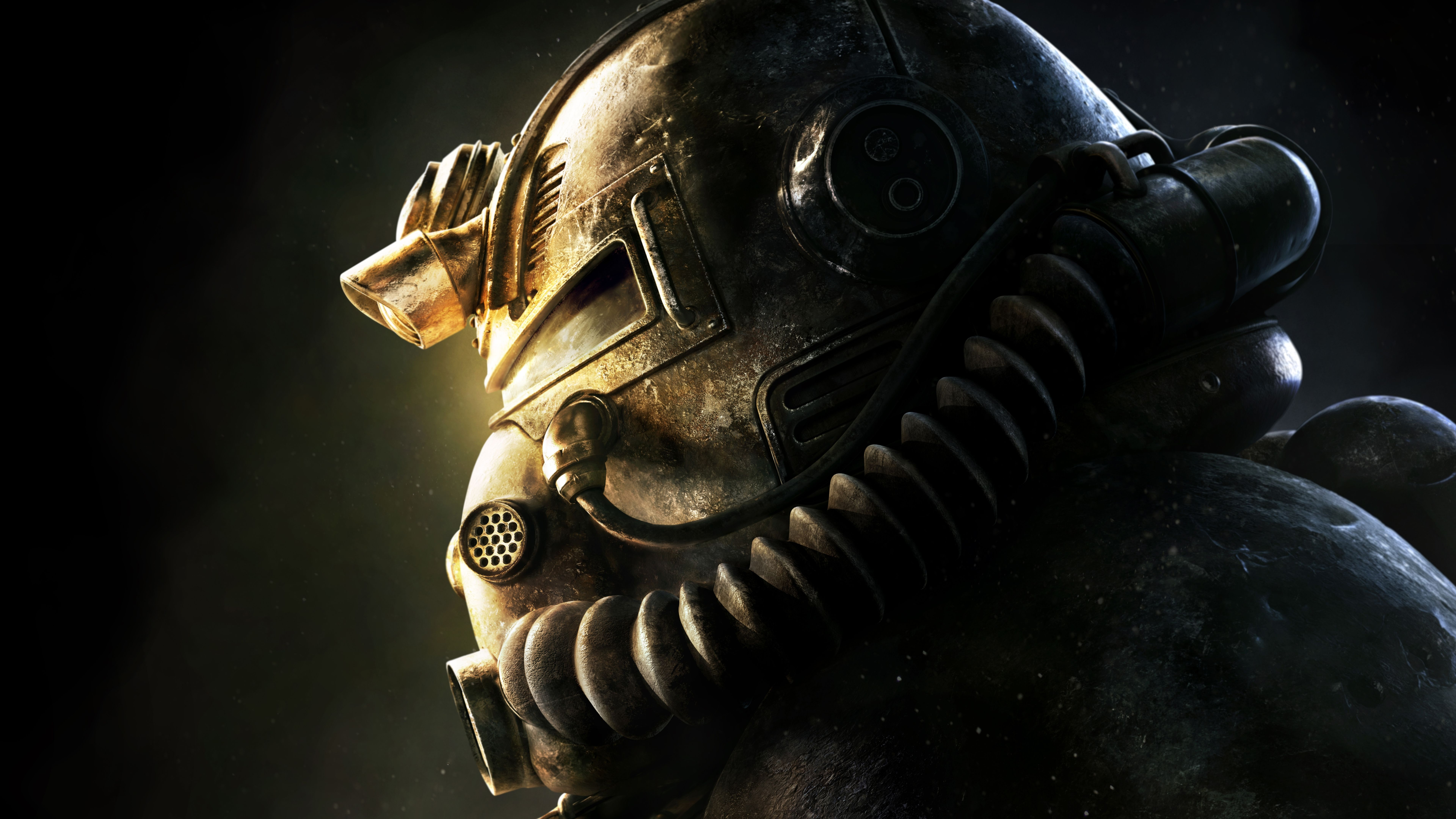 Fallout 76 Video Game T 51 Power Armor 7680x4320 Wallpaper Fallout Fallout Game Power Armor