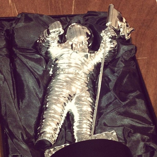 Someone's going home with Moonman tonight.