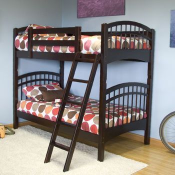 Mckenzie Espresso Twin Bunk Bed Costco Twin Bunk Beds