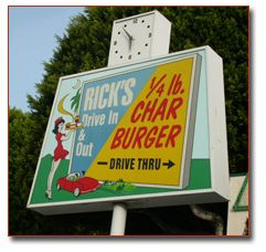 Rick S Drive In Out Whittier San Gabriel Valley Whittier