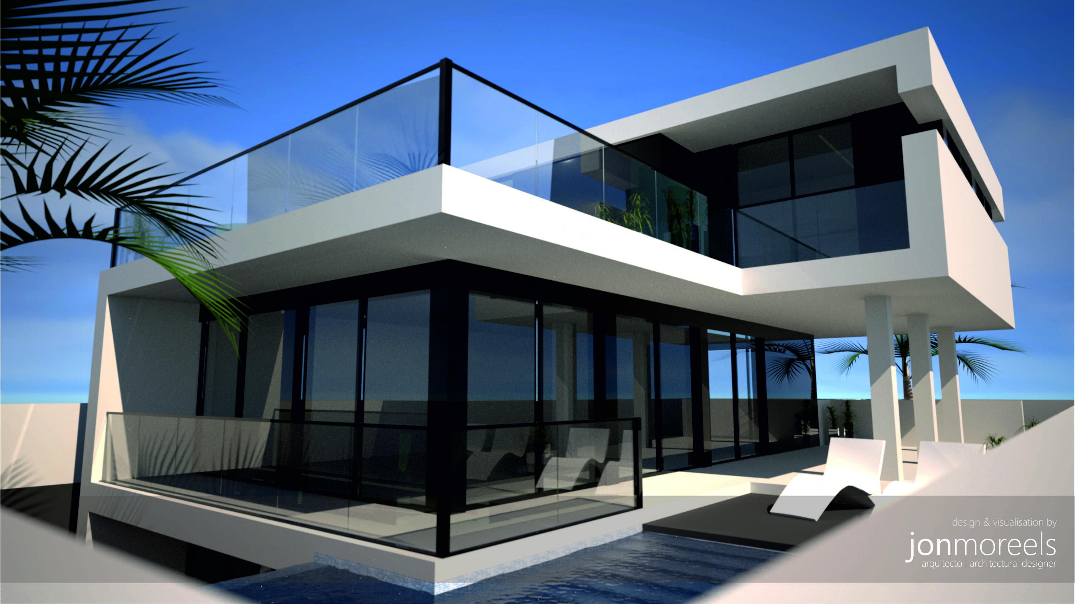 Contemporary Modern Villa Design, Costa Blanca, Spain For Girasol Homes